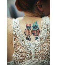 Inga Paltser. Tatoos. Инга Пальцер. Татуировки.